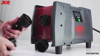 SCIE A ANNEAU PROFONDEUR 300MM HF 220V /380V vidéo