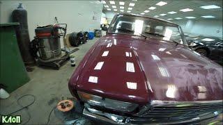 VLOG Жига/ Исправление косяков покраски и полировка автомобиля