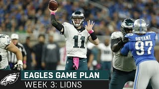 Breaking Down the Lions Matchup: Episode 3 | Eagles Game Plan (Week 3, 2019)