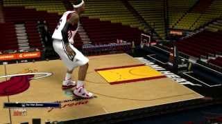 NBA 2K14 HEIGHT HACK - 30 FOOT LEBRON JAMES!