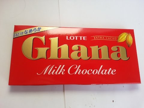 Lotte Ghana Milk Chocolate with Extra Cacao