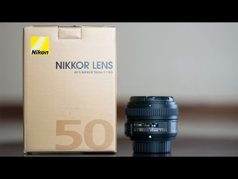 Nikon AF-S Nikkor 50mm f/1.8G Lens Review