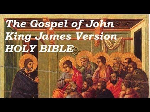 HOLY BIBLE: GOSPEL OF JOHN - FULL Audio Book - KJV New Testament - King James Version