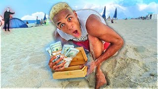 ich fand 60,000$ in Miami & wurde ausgeraubt!! **das geheime Video**