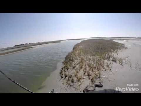 New river inlet north topsail nc fishing youtube for New river nc fishing