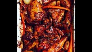 Little French Kitchen's Red Wine Roast Chicken Recipe
