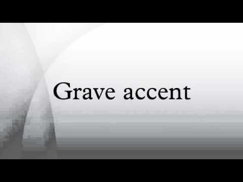 Grave accent