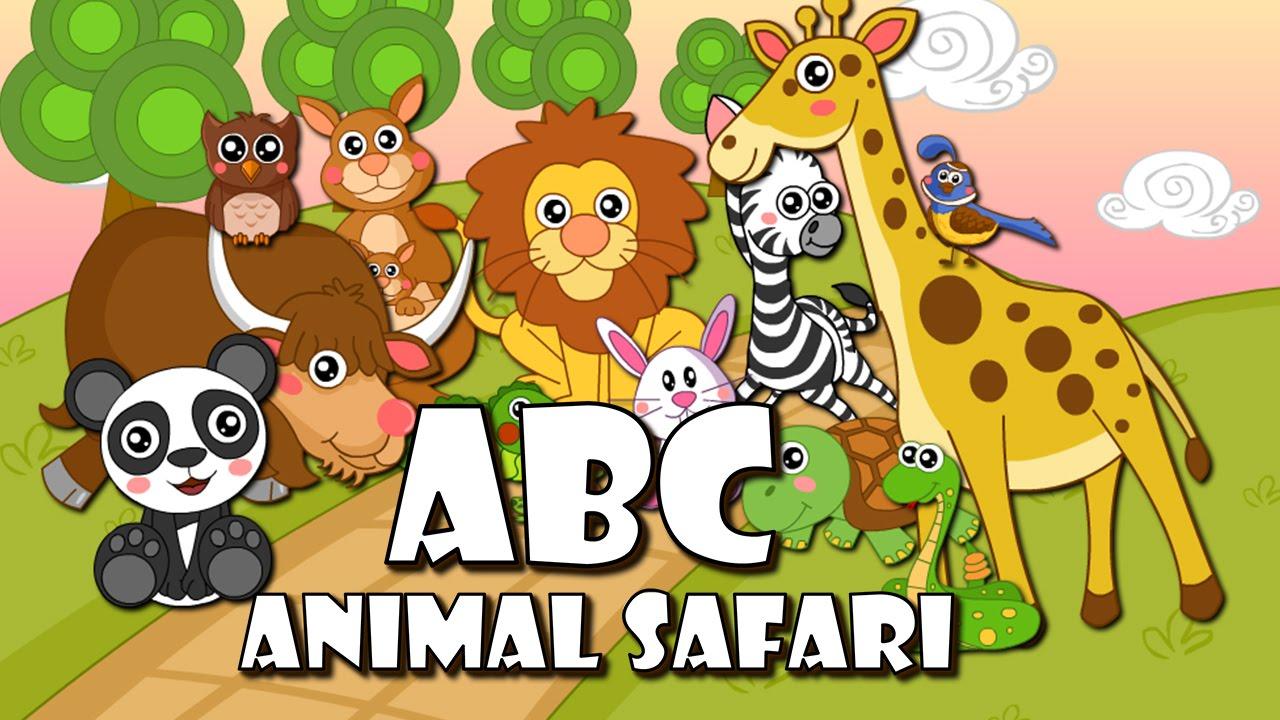 animal safari song abc