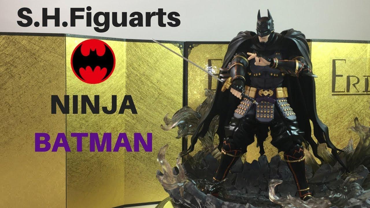 Figuarts Ninja Batman Action Figure DC S.H