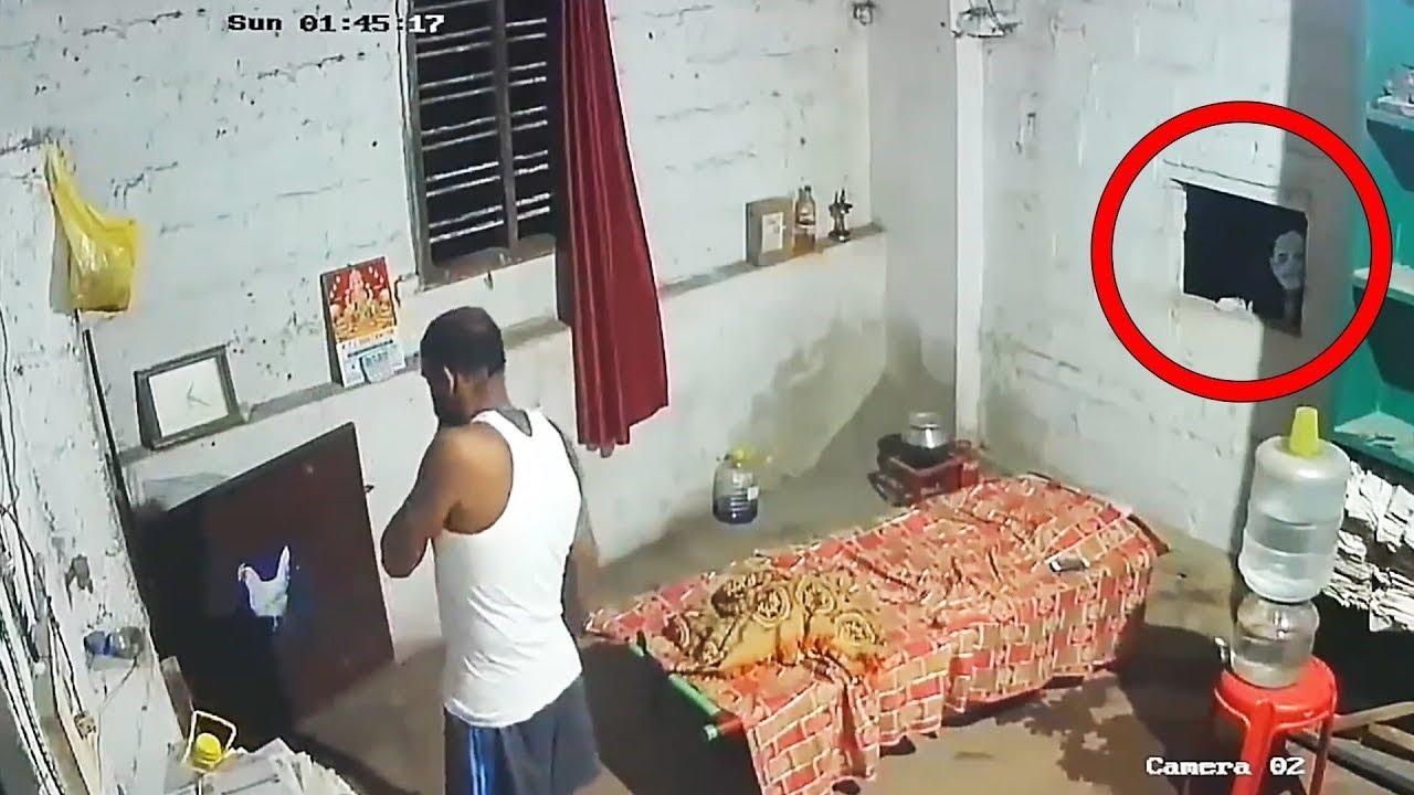 कैमरे में कैद 10 खौफनाक वीडियोस जिन्हें देखकर आपके रोंगटे खड़े हो जायेंगे || 10 Mysterious Videos