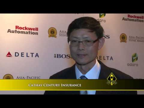 Cathay Century Insurance wins at the 2014 Asia-Pacific Stevie Awards
