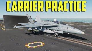 DCS F/A-18C - Carrier Practice