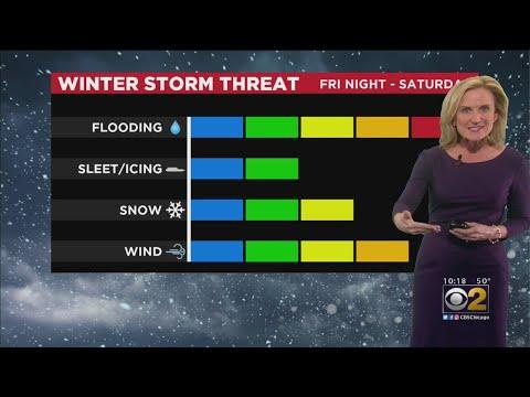 CBS 2 Weather Forecast (10 P.M. 1-9-20)