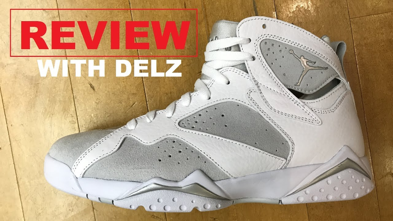 AIR JORDAN 7 PURE MONEY RETRO SNEAKER REVIEW + STAR WARS POP TOY UNBOXING