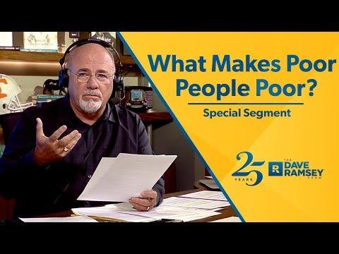 What Makes Poor People Poor?   Special Segment