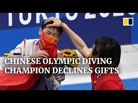 Chinese Olympic diver Quan Hongchan's family declines free property and cash