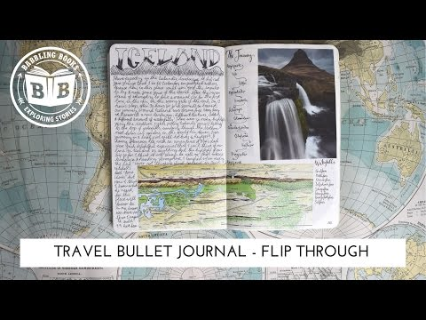 Travel Journal Flip Through - 6 Months in Europe