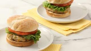 Chicken Burgers - Martha Stewart
