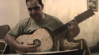 Luys de Narváez - Primer tono por ge sol re ut-Alexandros Zervas