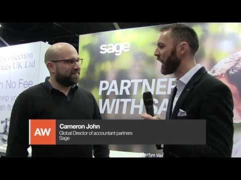 Accountex North 2018: Tom Herbert interviews Cameron John from Sage