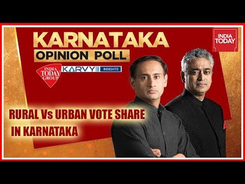 Karnataka Opinion Polls | Rural Vs Urban Vote Share In Karnataka | Exclusive