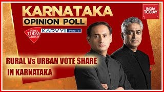 Karnataka Opinion Polls | Rural Vs Urban Vote Share In Karnataka | Exclusive