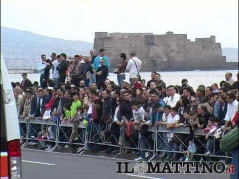 Napoli come Montecarlo: F1 sul Lungom, s Red Bull