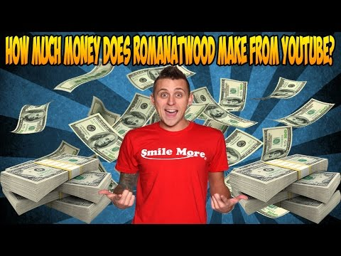 how much money does roman atwood make on youtube