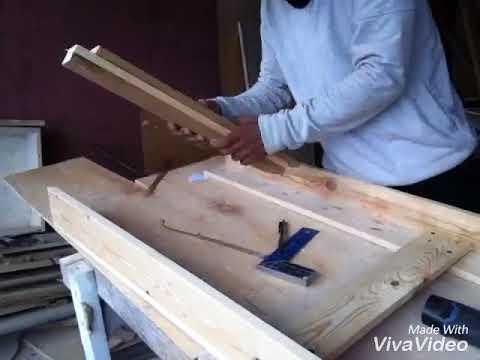 Making A Table Pine Wood ~ Membuat Meja Kayu Pinus