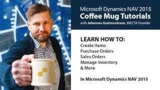 04 - Post Purchase & Sales Order in Microsoft Dynamics NAV 2015