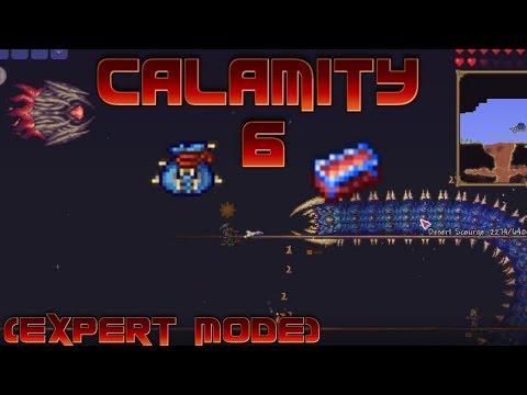 Terraria Calamity (Expert Mode) Ep. 6: DESERT SCOURGE & VICTIDE!