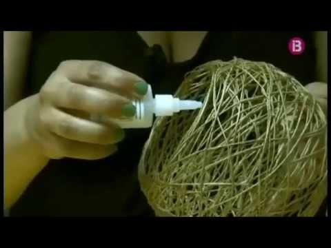 Lamparas de cuerda youtube - Como hacer una lampara de techo ...