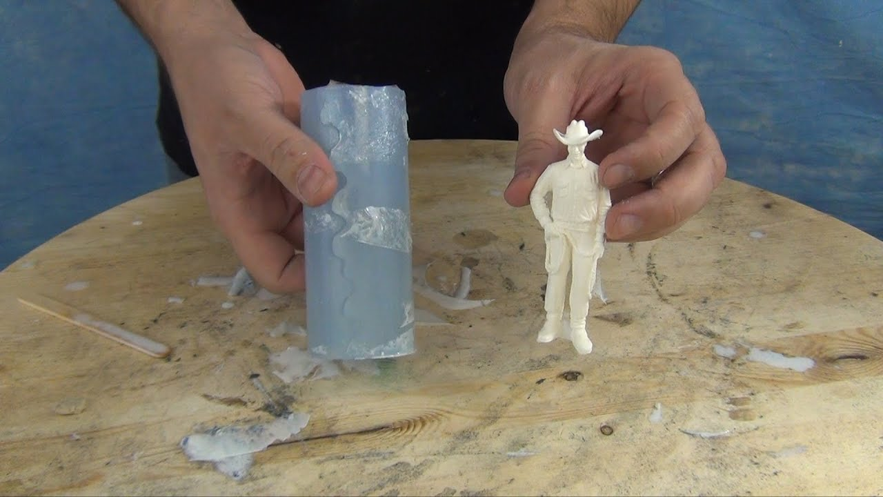 Mold Making Amp Casting Tutorial 73 20 Figurine Mold Youtube