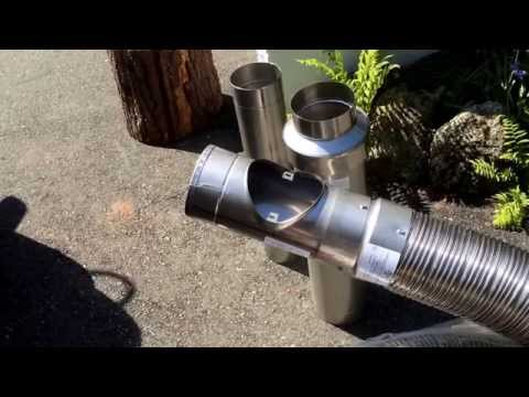 Chimney Liners Stainless Steel Components Flexible Kit Wood Stoves Explained
