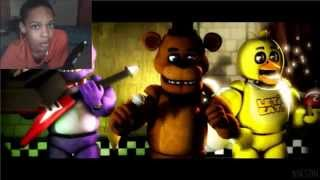 "[FNAF SFM] ""Old Times"" REACTION 