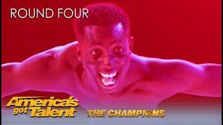 Strauss Serpent World39s Most Flexible Man On America39s Got Talent Don39t Look Away Challenge