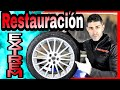 Como restaurar llantas aluminio metalizado Alfa GT