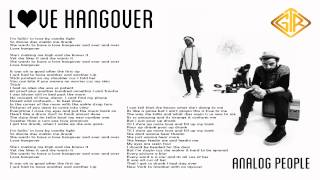 Love Hangover - Analog People [Official Lyric Video]
