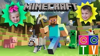 C&C Playing Minecraft Kid Video on Xbox One Edition