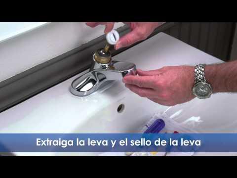 C mo reparar una llave que gotea funnycat tv for Como arreglar una llave de ducha que gotea