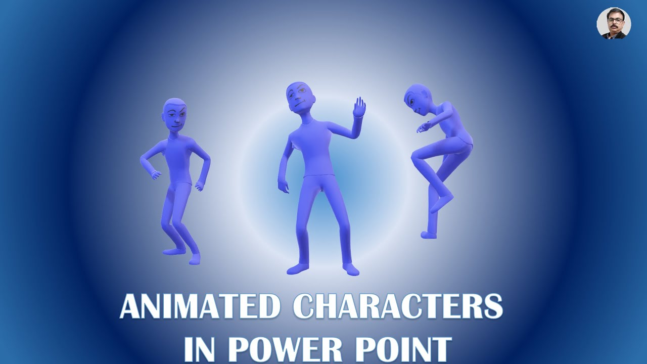 Using 3D Animated Characters in PowerPoint and Creating Movie Effect