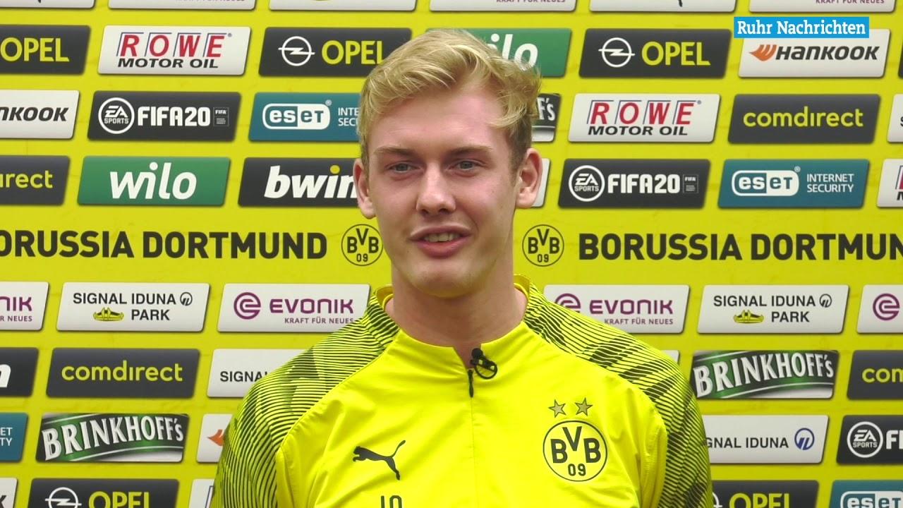 Brandt über BVB-Hinrunde, System und Haaland