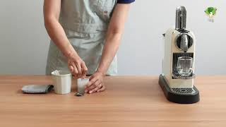 네스프레소 에버그린 스텐 커피 캡슐 다회용