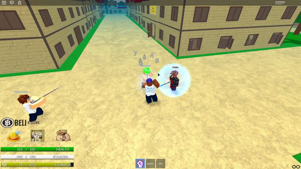 Roblox one piece evolved online