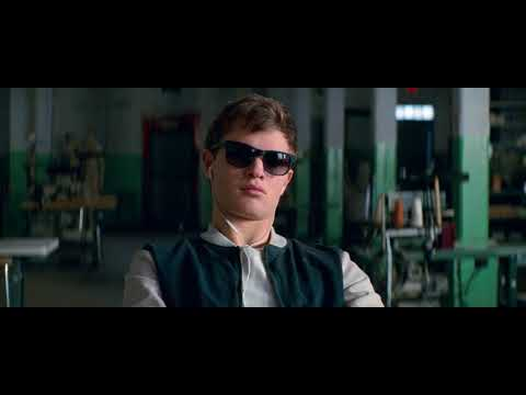 Baby Driver (2017) - Bank Robbery Plan Scene