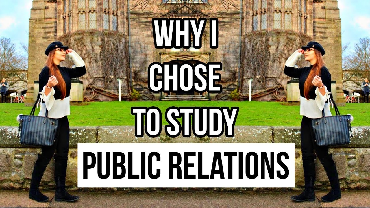 All about Public Relations :  What it's like to be a PR major + Why Study PR