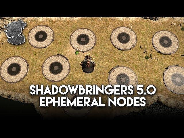 Shadowbringers 5 0 Ephemeral Nodes Times & Locations   FFXIV