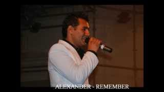 "ALEXANDER COVER DE ""REMEMBER"" (FROM JOSH GROBAN, THEME FROM TROY"