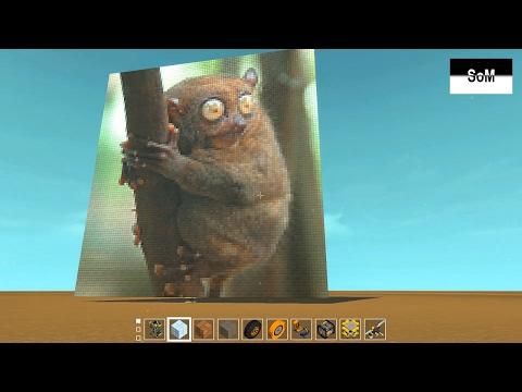 Scrap Mechaniс #13 ГАЙД о том, как легко делать картинки в игре с помощью сайта от ikey07!
