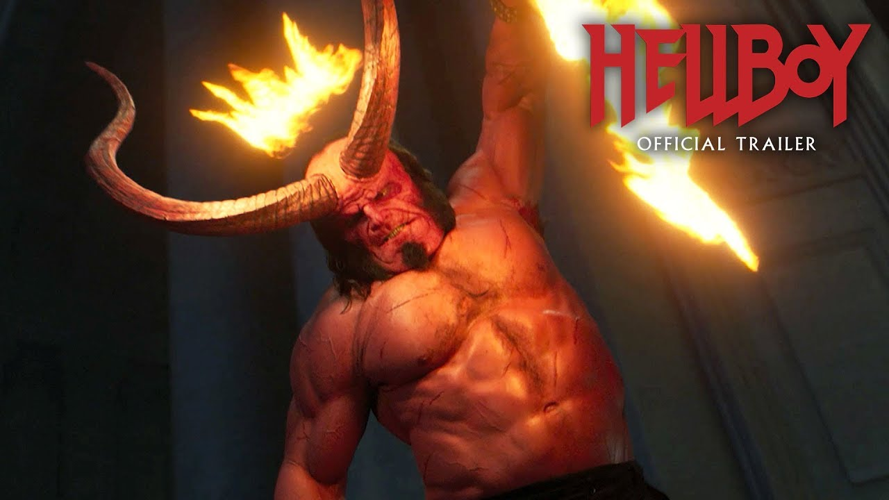 "Download Hellboy (2019 Movie) New Trailer ""Red Band"" – David Harbour, Milla Jovovich, Ian McShane"
